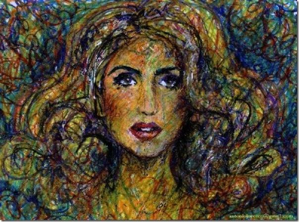 50 desenhos feitos por fãs de Lady Gaga (11)