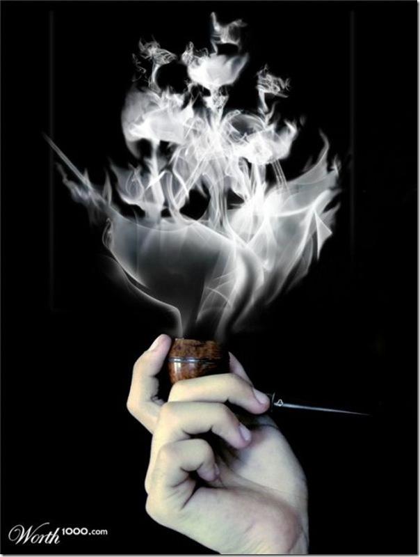 A bela arte feita com a fumaça (5)