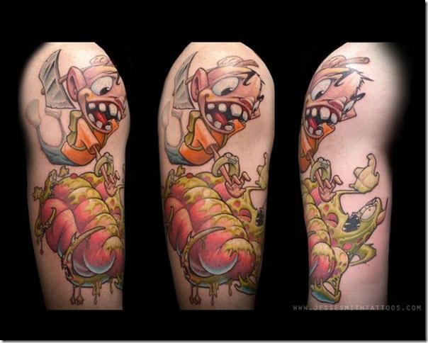Tatuagens assustadoras por Jesse Smith (23)