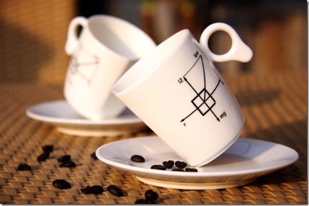Xícara de Café perfeitamente equilibrada no pires (5)