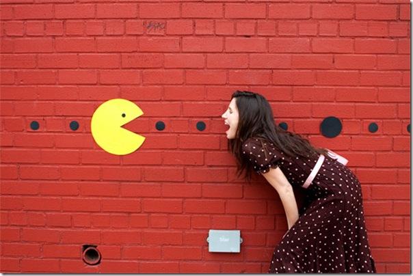 Pacman invade as ruas de Nova York (1)