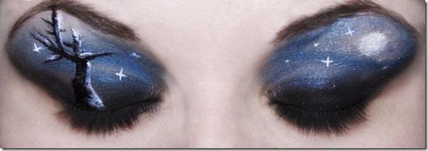 Linda maquiagem nos olhos em forma de sombra (8)