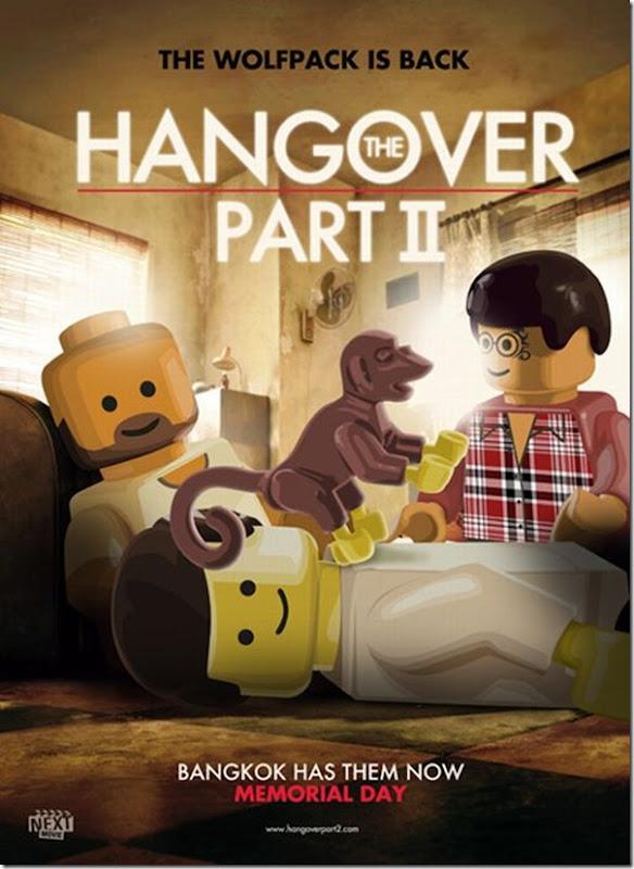 Posters de filmes de 2011 em Lego (2)