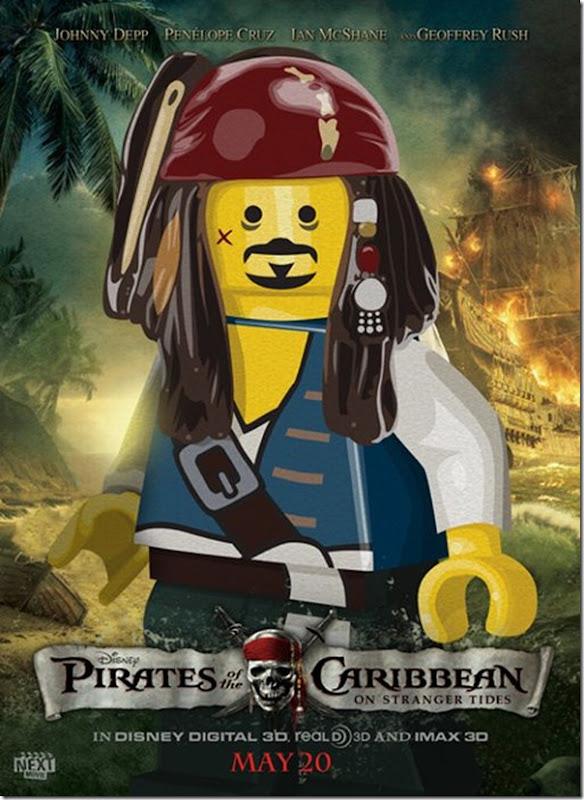 Posters de filmes de 2011 em Lego (4)