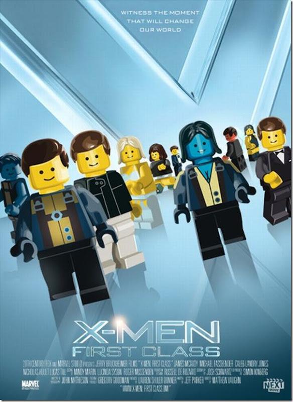 Posters de filmes de 2011 em Lego (6)