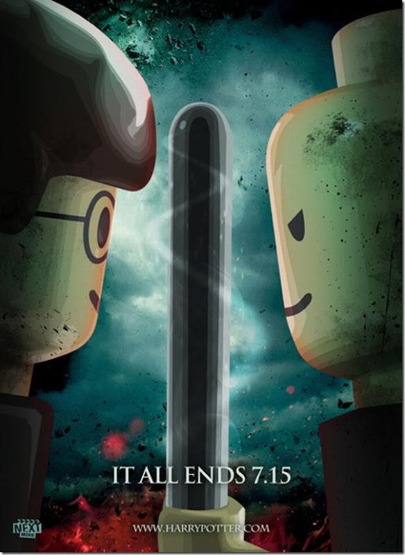Posters de filmes de 2011 em Lego (9)