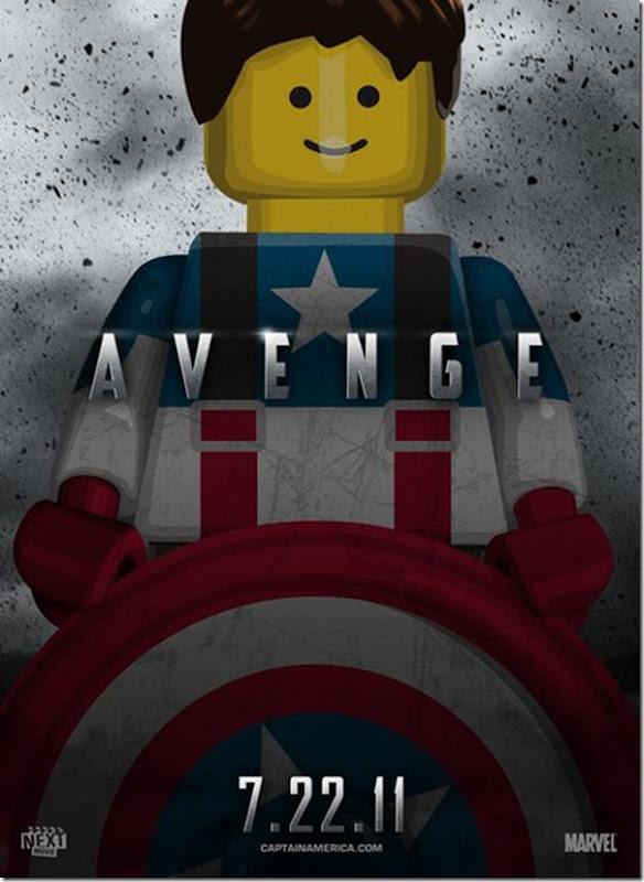 Posters de filmes de 2011 em Lego (10)