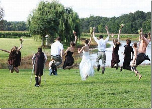 Agora todo mundo pulando pra foto final