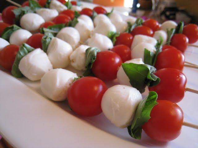 ... Adventures from a Kitchen in Cincinnati: Caprese Salad Skewers