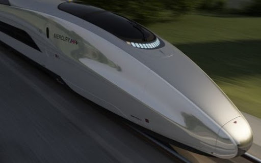 The Speeded Train of the Future