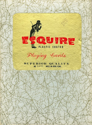 Vintage Esquire jumbo nudie playing card set