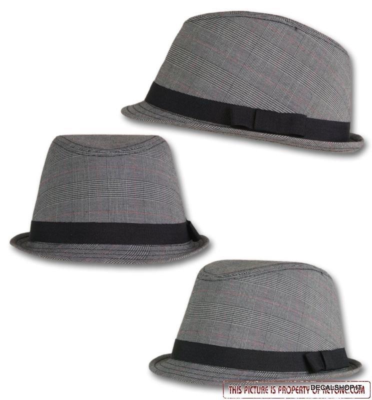 justin grigio glamour trilby cappello fedora trandy adesivi moto. Black Bedroom Furniture Sets. Home Design Ideas