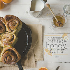 Cinnamon Orange Honey Buns