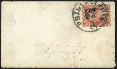 Le premier timbre dentelé des États-Unis