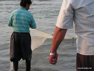 ماهی گیری در شمال ایران