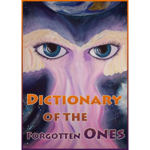 Dictionary Of The Forgotten Ones Cover