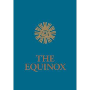 The Blue Equinox The Equniox Volume Iii No 1 Cover