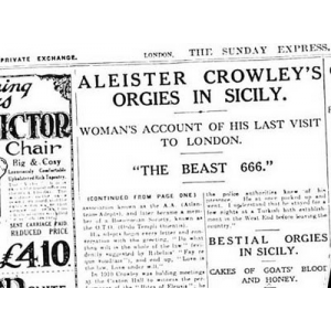 Aleister Crowley Vs Neo Con Morality Cover