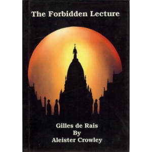 Gilles De Rais The Banned Lecture Cover