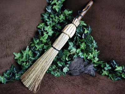 The Care And Feeding Of The Wicca Broom Cover