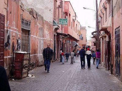 マラケッシュ旧市街-モロッコの旅行記