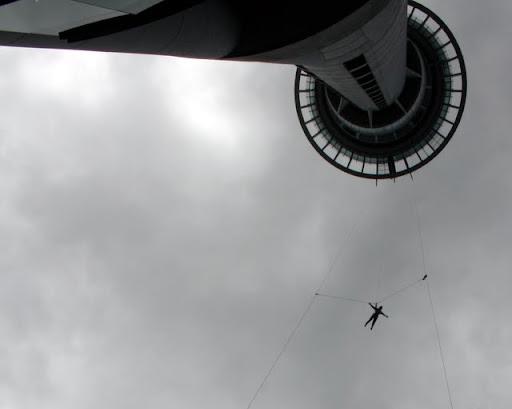 Sky Tower - Widoki na wieże