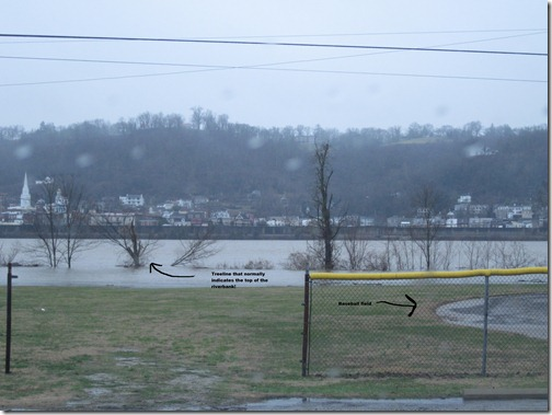 Ohio River flood photos