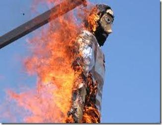 judas quema