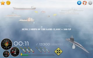 Screenshot of Silent Submarine 2 Sea Battle!