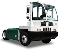 Balqon describes its Nautilus XE-20 as 'a Zero Emission All Electric Terminal Tractor that can carry loads up to 60,000 lb with an effective vehicle range on a single charge - Easily accommodates an 8 hour work shift (optional 2 work shift battery pack available). The vehicle is equipped with a level 3 charging option to allow for a fast charge in 2.5 hours. Model XE-20 is designed to transport containers at shipping ports and large warehouses.'