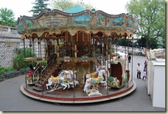 Beautiful double decker carousel