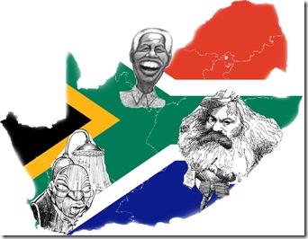 SA Mandela Marx