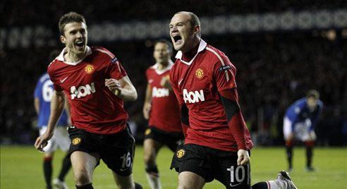 Wayne Rooney, Rangers - Manchester United