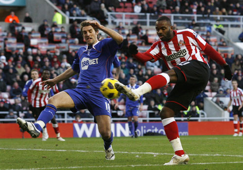 Darren Bent shooting, Sunderland - Bolton