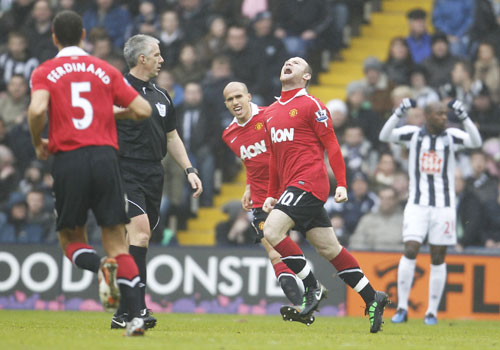 Wayne Rooney, West Brom - Manchester United