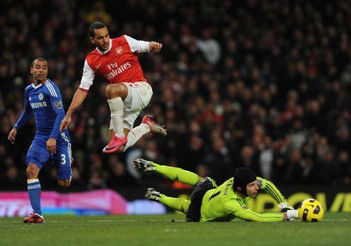 Theo Walcott, Arsenal - Chelsea