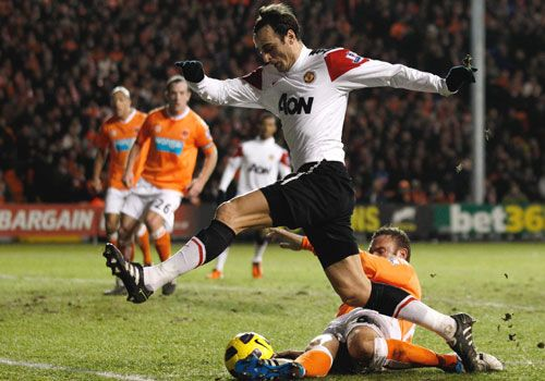 Dimitar Berbatov, Blackpool - Manchester United