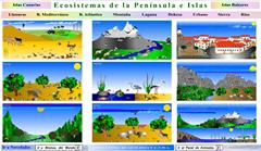 Ecosistemas de la Península e islas
