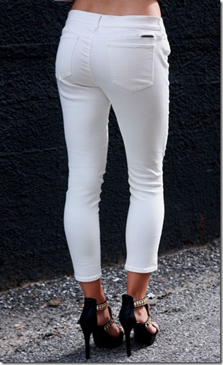 Juicy White Pants B