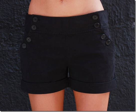 Juicy Sailor Shorts F
