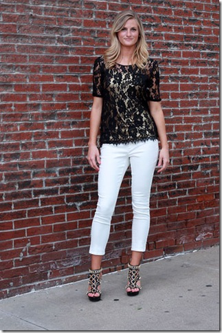 BB Dakota Lace Tee F