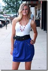 Mink Pink Cobalt Skirt F3