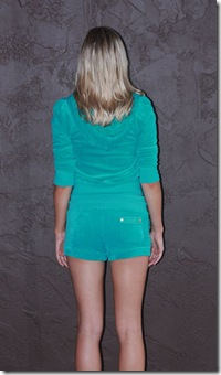 Juicy Teal Velour B