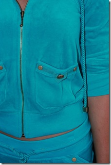 Juicy Teal Velour CU