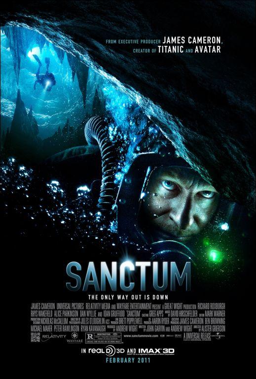 Sanctum 3-D James Cameron