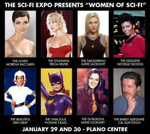 Dallas TX Sci-Fi Expo Women of Sci-Fi