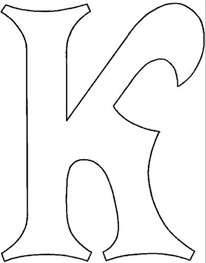Como hacer letra de molde bonita - Imagui