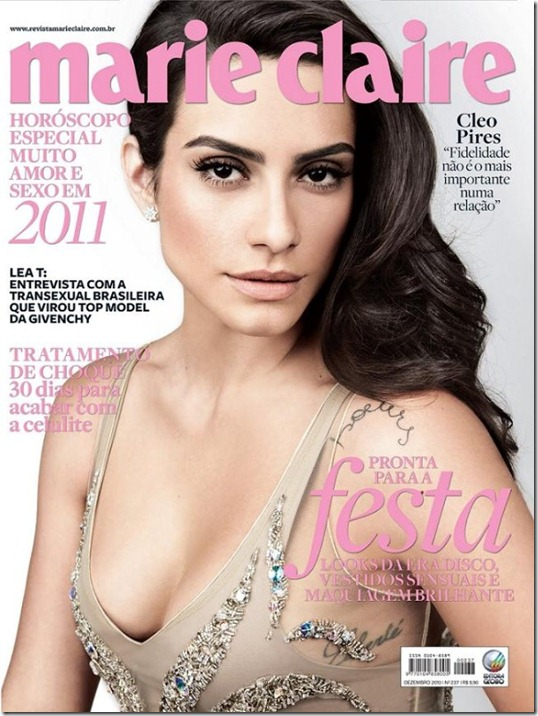 Cléo Pires capa marie claire