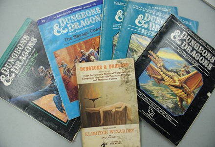D&D Expert Set and Modules plus Eldritch Wizardry