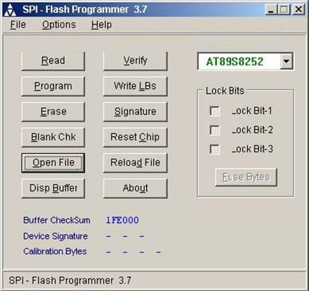 Программатор spi-flash